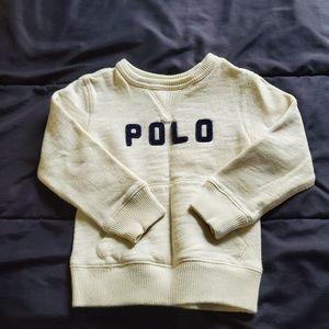 boy 3T POLO ralph Lauren sweatshirt
